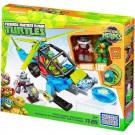 Mega Bloks Tartarugas Ninja JR Helicóptero - Mattel