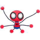 Boneco Pegajoso Homem Aranha Creepeez Marvel - Candide